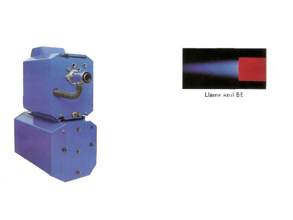 Caldera de fundición estanca con quemador de gasóleo de llama azul