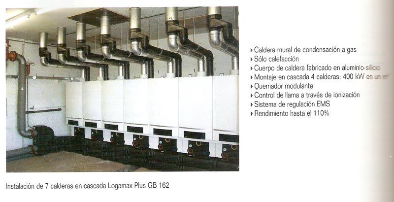 Caldera mural de condensación a gas